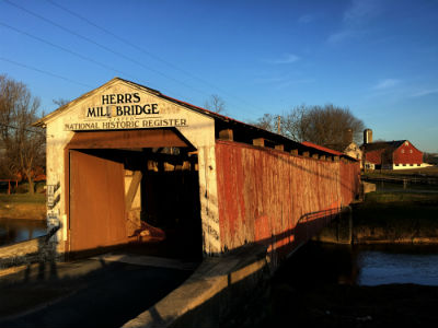 Herr's Mill Covered Bridge