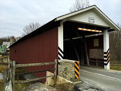 Jackson's Sawmill Covered Bridge