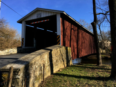 Kauffman's Distillery Covered Bridge