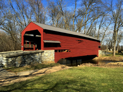 Shearer's Mill Covered Bridge