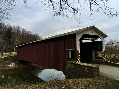White Rock Forge Covered Bridge