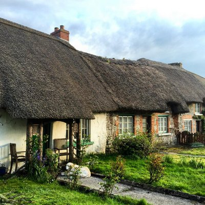 1 thatched When you say you lived in the county which area?