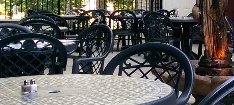 Bistros in Lancaster Outdoor Dining