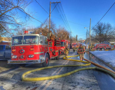 Fire Trucks In Action Deiter Have you met new people and learned new skills?