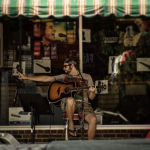 Photo By Jennifer Strouse Guitar So you got a lot of city shooting.