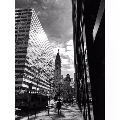 Photo By Jennifer Strouse Philly So you get there first experience you're an introvert but you knew some other people there?