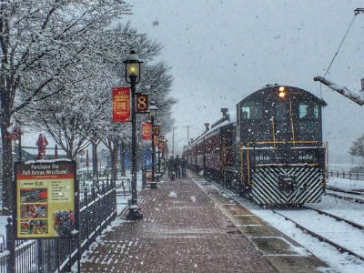 Snow Strasburg Station Deiter Tell us more about your workflow process. You take a picture and then where do you go next?
