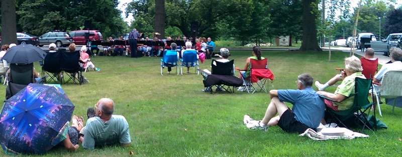 Strasburg Community Listening to Music The Lancaster County Community