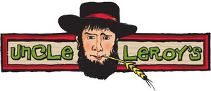 Uncle Leroys Logo Amish Fudge Brittle